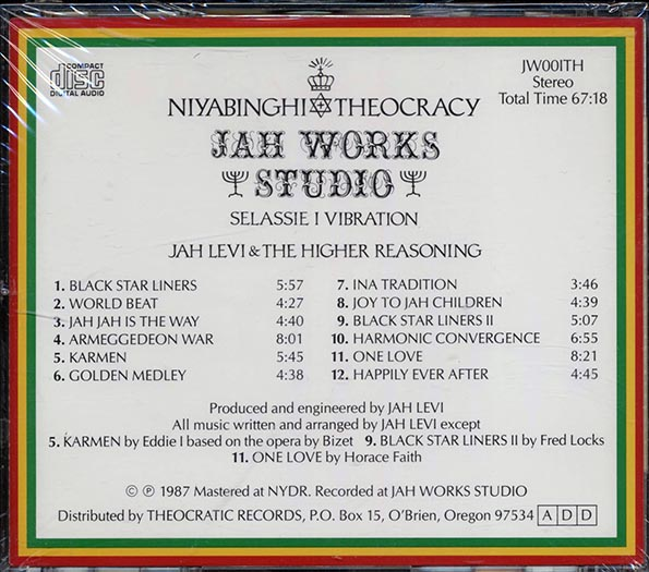 Jah Levi & The Higher Reasoning - Selassie I Vibration