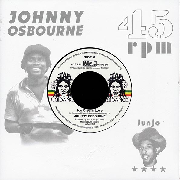 Johnny Osbourne - Ice Cream Love  /  The Roots Radics - Extra Time One