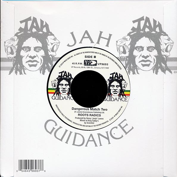 Hugh Mundell - Rasta Have The Handle  /  The Roots Radics - Dangerous Match Two