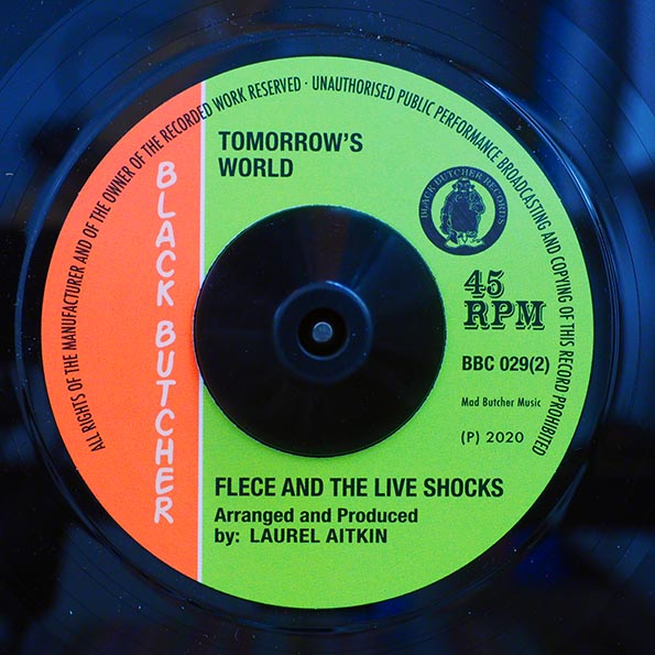 The Freedom Singers - Election  /  Fleece & The Live Shocks - Tomorrow's World