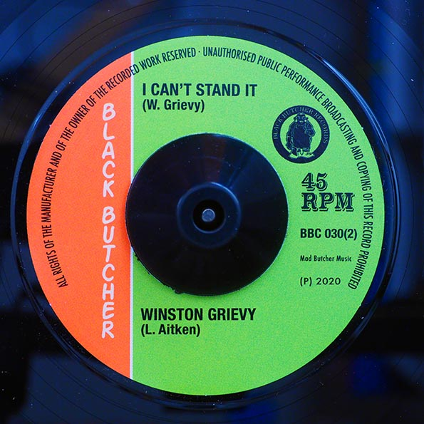 King Horror - Frankenstein  /  Winston Groovy - I Can't Stand It